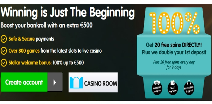 casino room no deposit bonus codes