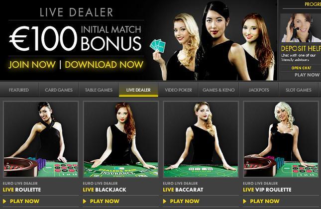 bet live casino