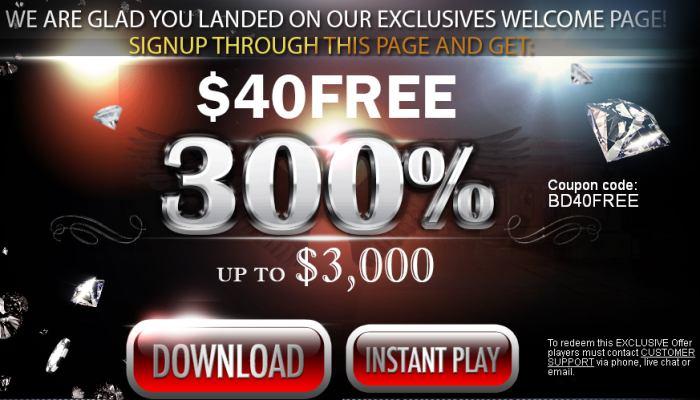 Black Diamond Casino - Bonus Codes June - Review
