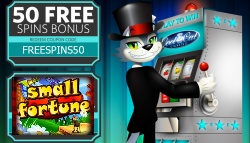 50 FREE Spins Small Fortune Slot