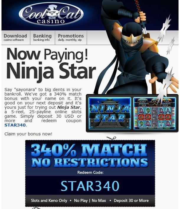 Cool cat casino no deposit codes may 2018