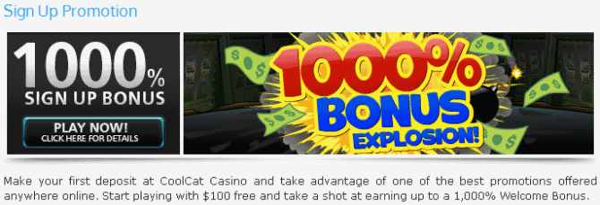 Coolcat casino no deposit bonus codes october 2011 latest casino no deposit