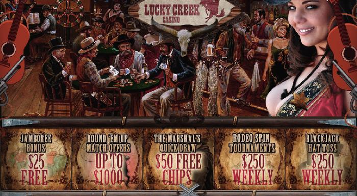 lucky creek casino bonus codes 2019