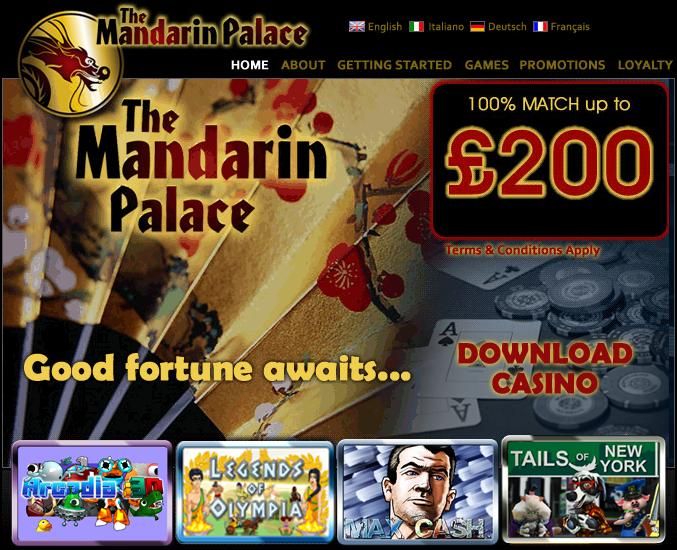 mandarin palace casino no deposit codes 2019