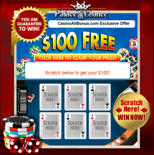 Palace Of Chance Casino No Deposit Bonus Codes 2021