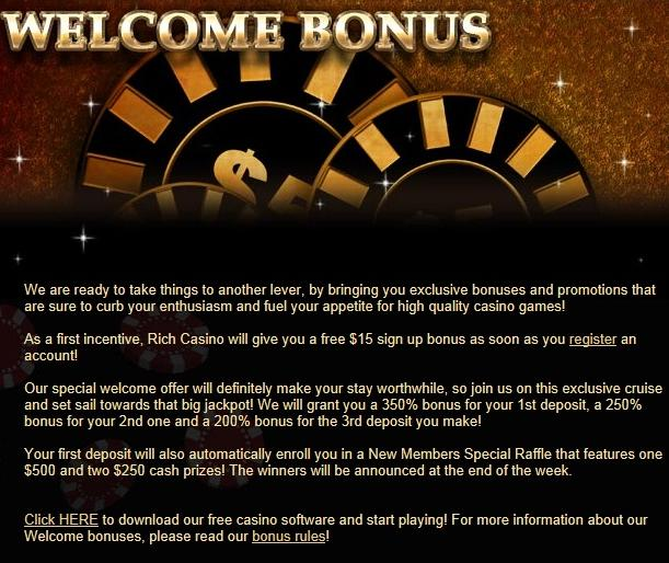 rich casino no deposit bonus codes 2019