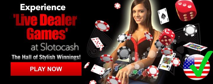 live dealers casino no deposit bonus