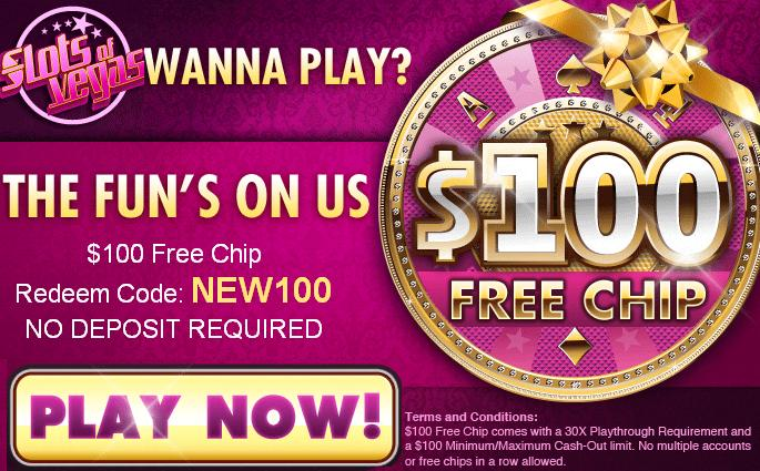 Slots Of Vegas Casino No Deposit Bonus Codes 2019