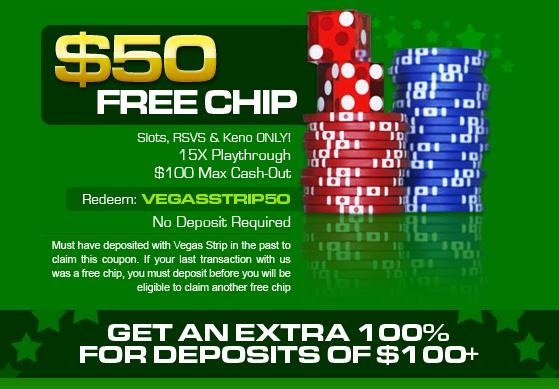 free casino chips no deposit required