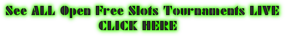 Online Slots Tournament Free